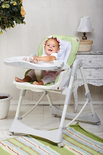 Стульчик для кормления Happy Baby William Biege (17)