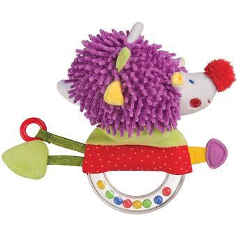 Погремушка-пищалка Happy Baby Funny Hedgehog - Minim