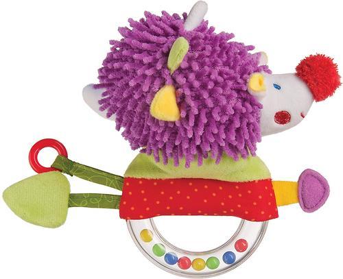 Погремушка-пищалка Happy Baby Funny Hedgehog (3)
