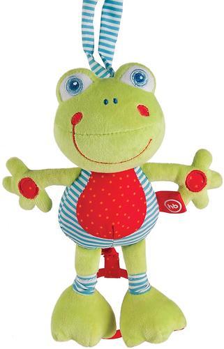 Игрушка мягконабивная Happy Baby Frolic Frogling (4)