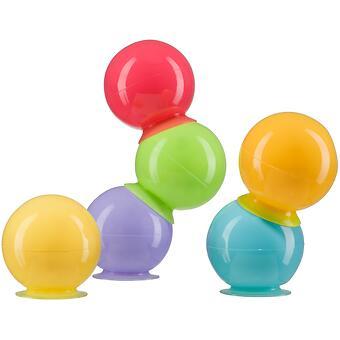 Набор ПВХ-игрушек Happy Baby для ванной IQ-Bubbles - Minim