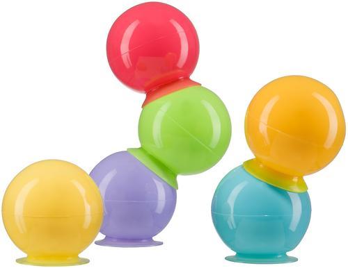 Набор ПВХ-игрушек Happy Baby для ванной IQ-Bubbles (3)