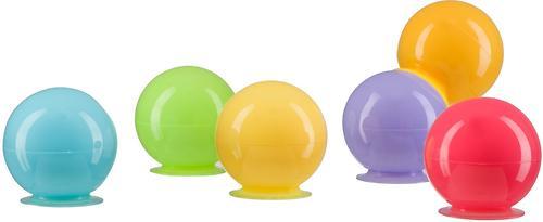 Набор ПВХ-игрушек Happy Baby для ванной IQ-Bubbles (4)