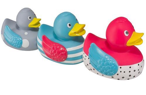 Набор игрушек Happy Baby для ванной FUNNY DUCKS (4)
