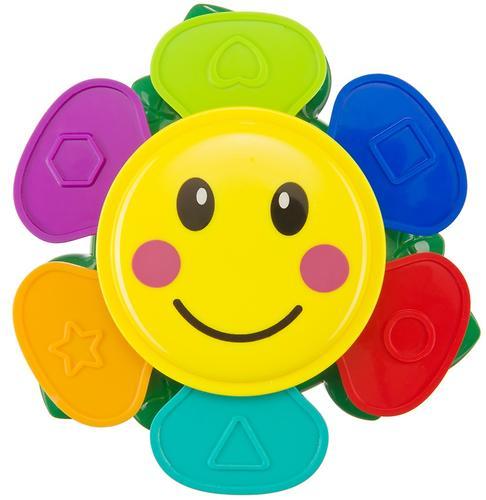 Набор игрушек Happy Baby для ванной Flower Puzzle (7)