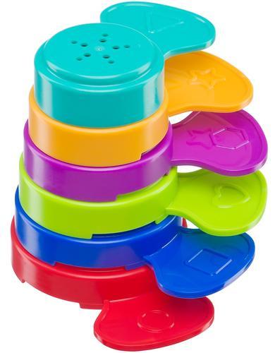 Набор игрушек Happy Baby для ванной Flower Puzzle (9)