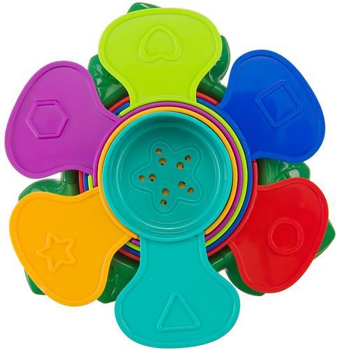 Набор игрушек Happy Baby для ванной Flower Puzzle (10)
