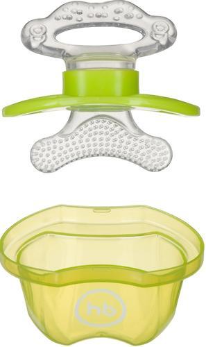 Прорезыватель Happy Baby силиконовый Silicone Teether Lime (5)