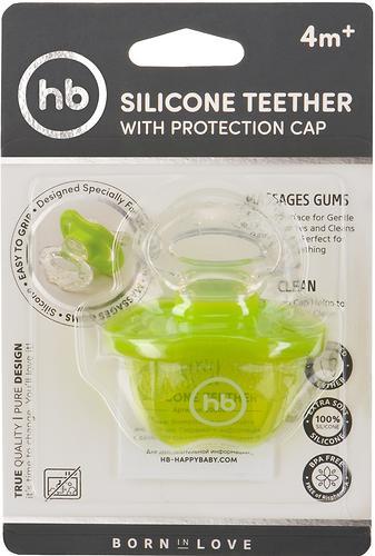 Прорезыватель Happy Baby силиконовый Silicone Teether Lime (8)