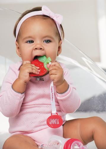 Прорезыватель с держателем Happy Baby Tooth Berry (4)