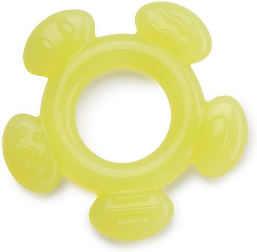 Прорезыватель Happy Baby силиконовый в футляре Silicon teether салатовый (4)