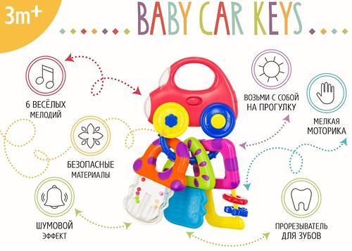 Музыкальный брелок Happy Baby Baby car keys (4)