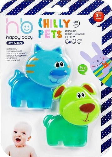 Прорезыватель с гелем Happy Baby Chilly Pets (4)
