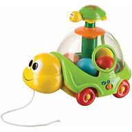 Музыкальная каталка-юла Happy Baby IQ-Turtle