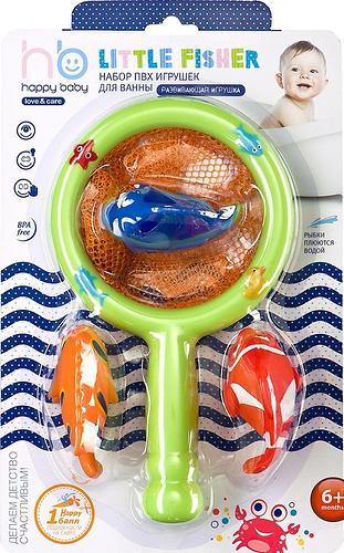 Набор игрушек Happy Baby для ванной LITTLE FISHER (4)