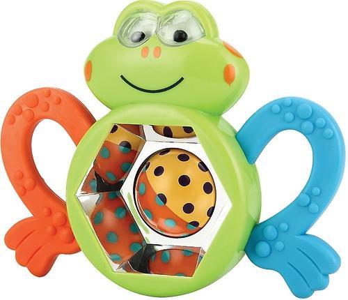 Погремушка-прорезыватель Happy Baby Frogus (1)