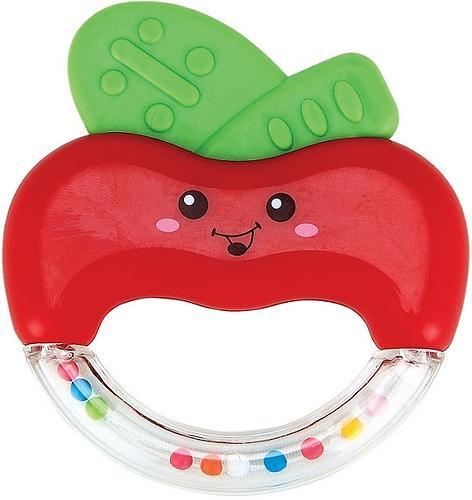 Погремушка-прорезыватель Happy Baby Apple fun (1)