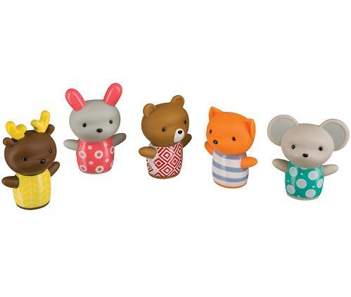 Набор игрушек Happy Baby для ванной LITTLE FRIENDS (1)