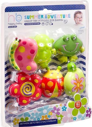 Набор игрушек Happy Baby для ванной SUMMER ADVENTURE (6)