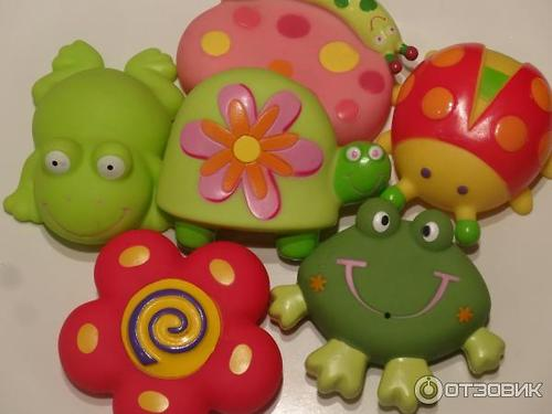 Набор игрушек Happy Baby для ванной SUMMER ADVENTURE (5)
