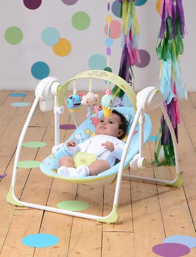 Электрокачели Happy Baby Jolly Blue (16)