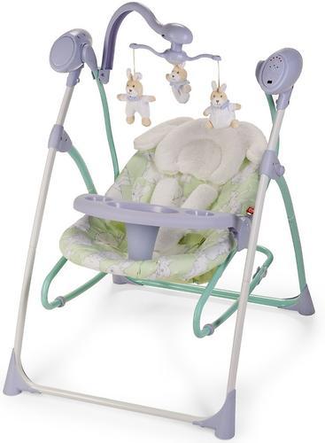 Электрокачели Happy Baby Luffy Lilac (9)