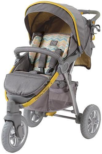 Коляска прогулочная Happy Baby Neon Sport Yellow (13)