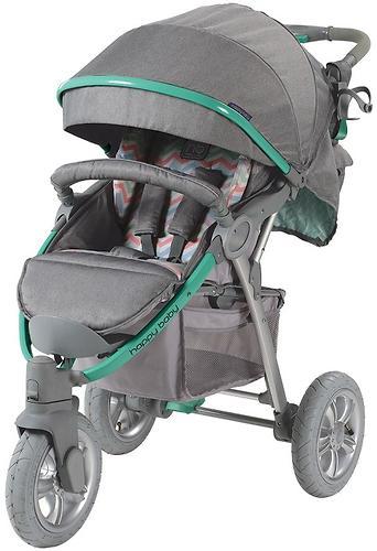 Коляска прогулочная Happy Baby Neon Sport Green (14)