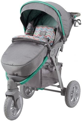 Коляска прогулочная Happy Baby Neon Sport Green (20)