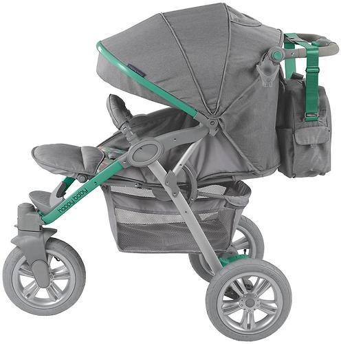 Коляска прогулочная Happy Baby Neon Sport Green (17)