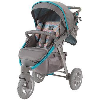 Коляска прогулочная Happy Baby Neon Sport Blue - Minim