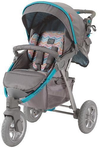 Коляска прогулочная Happy Baby Neon Sport Blue (13)