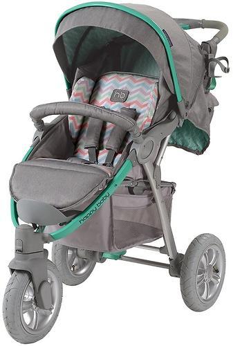Коляска прогулочная Happy Baby Neon Sport Green (13)