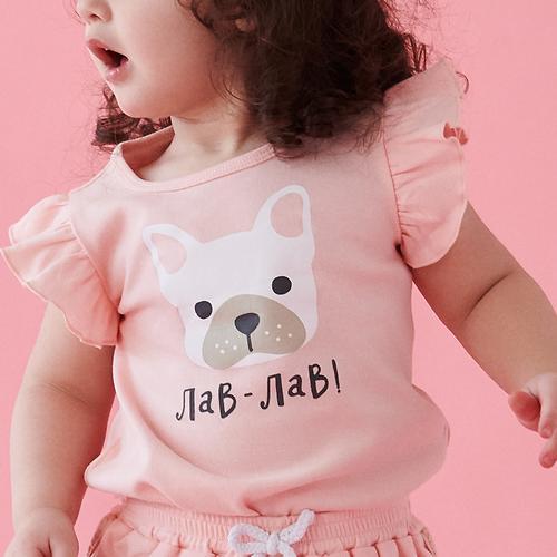 Майки для девочек Happy Baby T-Shirt Set 2шт (9)