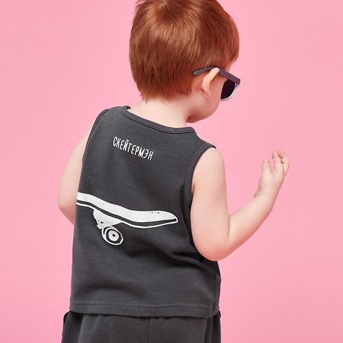 Набор для мальчиков Happy Baby Майка и Нагрудный фартук 88004 (9)