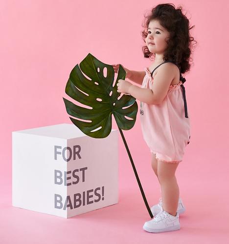 Полукомбинезон для девочек Happy Baby 88008 (8)
