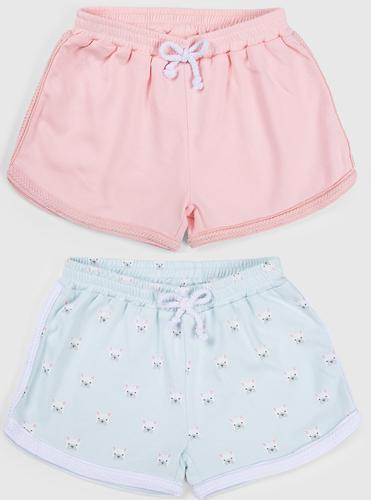 Шорты для девочек Happy Baby Girl's Shorts 2шт (6)