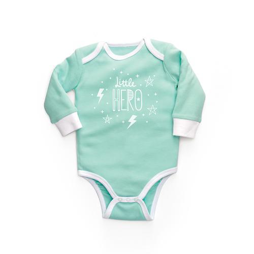 Боди с длинным рукавом Happy Baby с царапками набор 2шт (7)