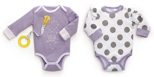 Набор боди с длинным рукавом Happy Baby 2шт (7)