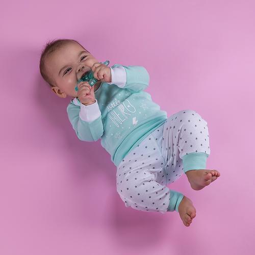 Набор трикотажных брюк Happy Baby с высоким пояском 2шт (13)