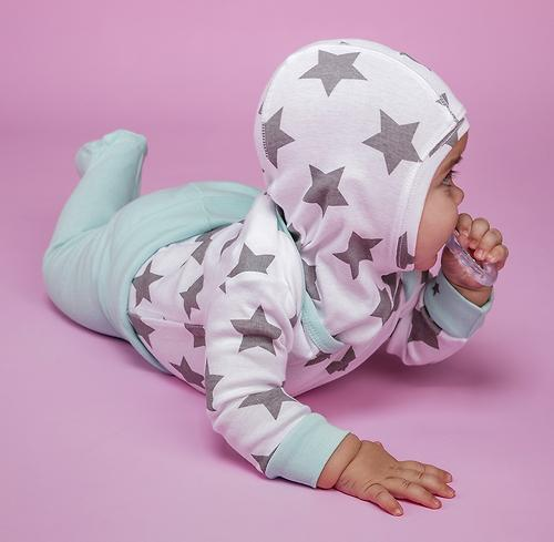Набор шапочек-шлемов Happy Baby Stars 2шт (7)