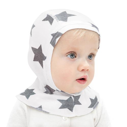 Набор шапочек-шлемов Happy Baby Stars 2шт (6)