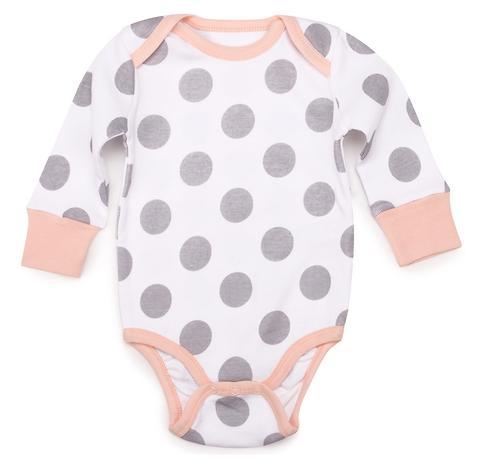 Боди с длинным рукавом Happy Baby набор 2шт арт.90027 (6)