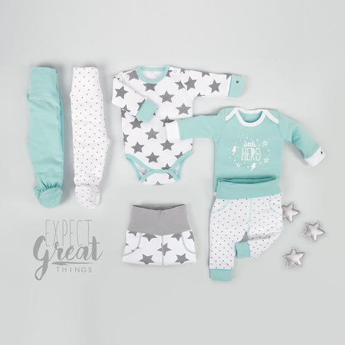Набор трикотажных брюк Happy Baby с высоким пояском 2шт (12)