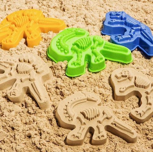 Формочки Happy Baby для песка Dinosaurs (4)