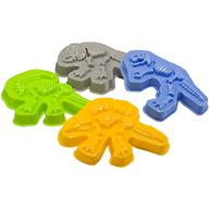 Формочки Happy Baby для песка Dinosaurs
