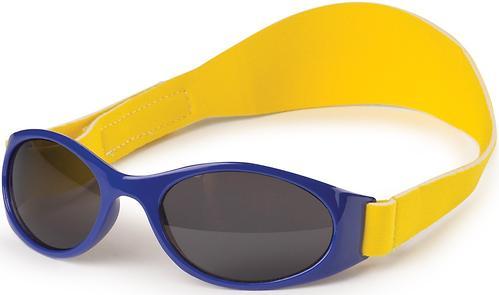 Очки солнезащитные Happy Baby с ремешком Blue (1)