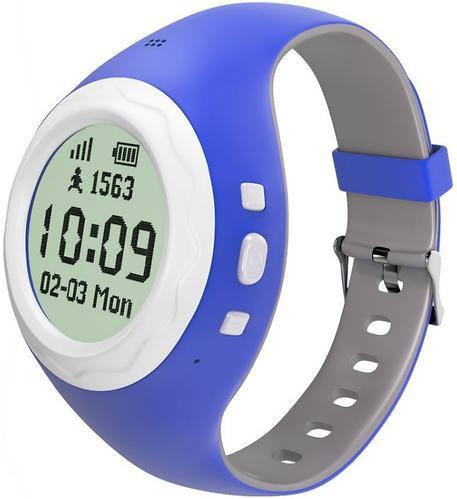 Детские телефон-часы Hiper Kidsafe FRT-G2 Blue (5)
