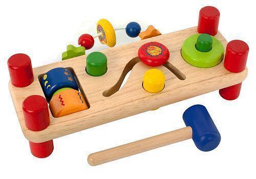 Игрушка I`m Toy Развивающая скамейка-деревянная (3)