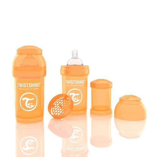 Антиколиковая бутылочка Twistshake 180 мл Оранжевая (3)